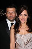 David Barrera, Maria Canals-Barrera at the 36th Annual Gracie Awards Gala, Beverly Hilton Hotel, Beverly Hills, CA. 05-24-11