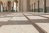 Mosque Hassan II in Casablanca Morocco