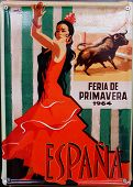 Vintage Poster Seville's Spring Fair