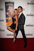 Anya Garnis and Pasha Kovalev at the