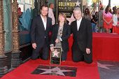 Bill Paxton, Sissy Spacek and David Lynch at Sissy Spacek's induction into the Hollywood Walk of Fame, Hollywood Blvd, Hollywood, CA. 08-01-11