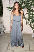 Elisa Sednaoui at MIU MIU Presents Lucrecia Martels Muta, Private Location, Beverly Hills, CA. 07-19-11
