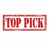 Top Pick-stamp
