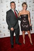 Matt LeBlanc, Andrea Anders at the 63rd Primetime Emmy Awards Performers Nominee Reception, Pacific Design Center,  Los Angeles, CA 09-16-11