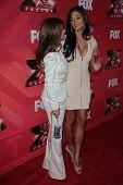 Paula Abdul and Nicole Scherzinger  at
