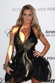 Katie Price at the 19th Annual Elton John Aids Foundation Academy Awards Viewing Party, Pacific Desi