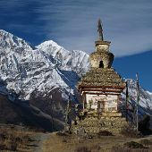 Gangapurna, mountain of the Annapurna Range