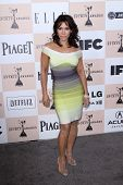 Daphne Rubin Vega at the 2011 Film Independent Spirit Awards, Santa Monica Beach, Santa Monica, CA 02-26-11