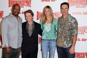 David Alan Grier, Martin Short, Heidi Klum, Patrick Warburton at the