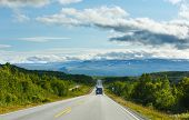 Norwegian Summer Road (near Dombas, Norge)