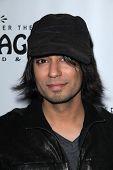Vik Sahay  at the AVENUE Q Los Angeles Return, Pantages, Hollywood, CA. 03-01-11