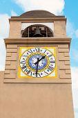 Clocktower In Capri.