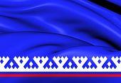 Flag Of Yamalo-nenets Autonomous Okrug