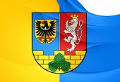 Flag Of Gorlitz Landkreis