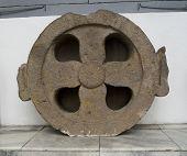 Ornate Circular Stone Carving