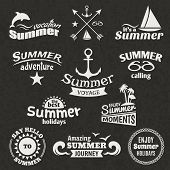 Summer element label