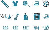 Washing machine Icon Set
