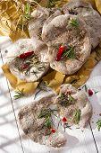 Focaccia Wholemeal Flour
