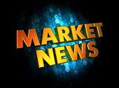 Market News - Gold 3D Words.