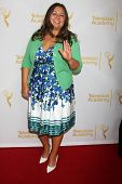 LOS ANGELES - JUN 19:  Angelica McDaniel at the ATAS Daytime Emmy Nominees Reception at the London H