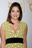 LOS ANGELES - JUN 19:  Jen Lilley at the ATAS Daytime Emmy Nominees Reception at the London Hotel on