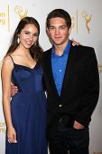 LOS ANGELES - JUN 19:  Haley Pullos, Jimmy Deshler at the ATAS Daytime Emmy Nominees Reception at th