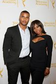 LOS ANGELES - JUN 19:  Redaric Williams, Angell Conwell at the ATAS Daytime Emmy Nominees Reception