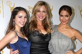 LOS ANGELES - JUN 19:  Haley Pullos, Kelly Sullivan, Lisa LoCicero at the ATAS Daytime Emmy Nominees