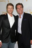 LOS ANGELES - JUN 19:  Burgess Jenkins, Peter Bergman at the ATAS Daytime Emmy Nominees Reception at