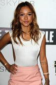 LOS ANGELES - JUN 19:  Karrueche Tran at the