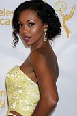 LOS ANGELES - JUN 19:  Mishael Morgan at the ATAS Daytime Emmy Nominees Reception at the London Hote