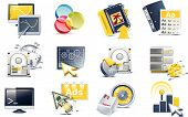 Vector Website Entwicklung Icon set