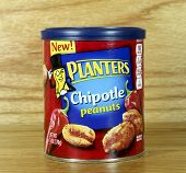 Can Of Planters Chipotle Peanuts