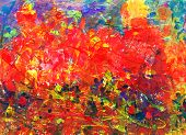 Childs Abstract Painting