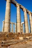 Antigo templo Sounion