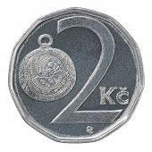 Two Czech Koruna Coin