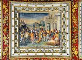 Gallery Ceiling Painting In Vatican Museums