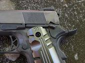 Pistol Detail