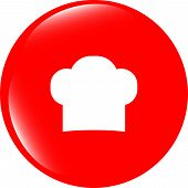 foto of chef cap  - Chef hat sign icon - JPG