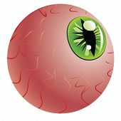 Green Eye Of A Monster
