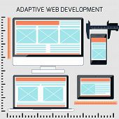 Icons for adaptive web development