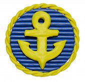 Badge With Anchor
