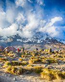 Karanga, Kibo, Kilimanjaro National Park, Tanzania, Africa