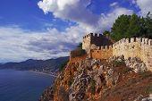 Walls of Seljuk fortress