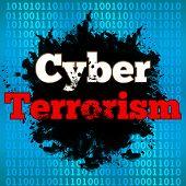 Cyber Terrorism Binary Background