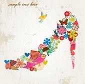 flower-shoe