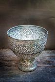 Antique Silver Bowl, Vintage.