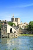 St. benezet Bridge In Avignon, France