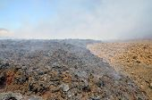 Lava Inside Volcanic Park