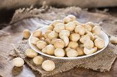Bowl With Macadamia Nuts
